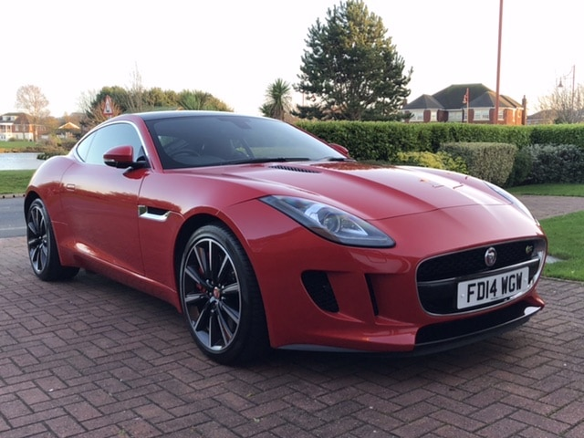 2014 14 JAGUAR F-TYPE 3.0 V6 S 380BHP QUICKSHIFT AUTO COUPE