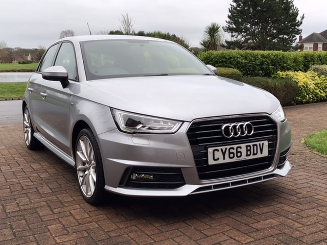 2016 66 AUDI A1 1.6TDI 115BHP S-LINE SPORTBACK 5 DOOR MANUAL