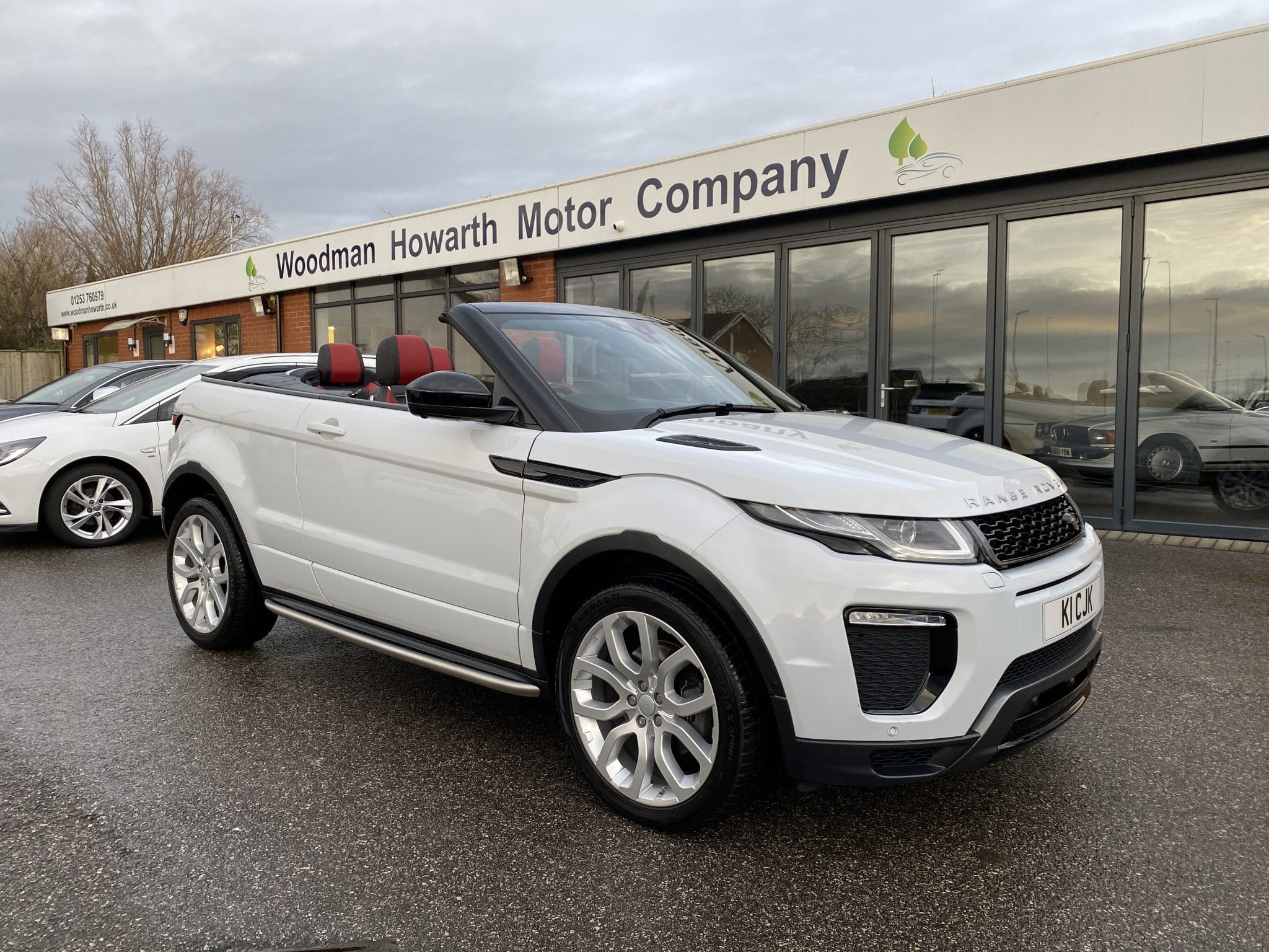 2017 66 RANGE ROVER EVOQUE 2.0TD4 HSE DYNAMIC AUTO 180 BHP CONVERTIBLE 1 Lady Owner 19K Miles High Spec Pristine