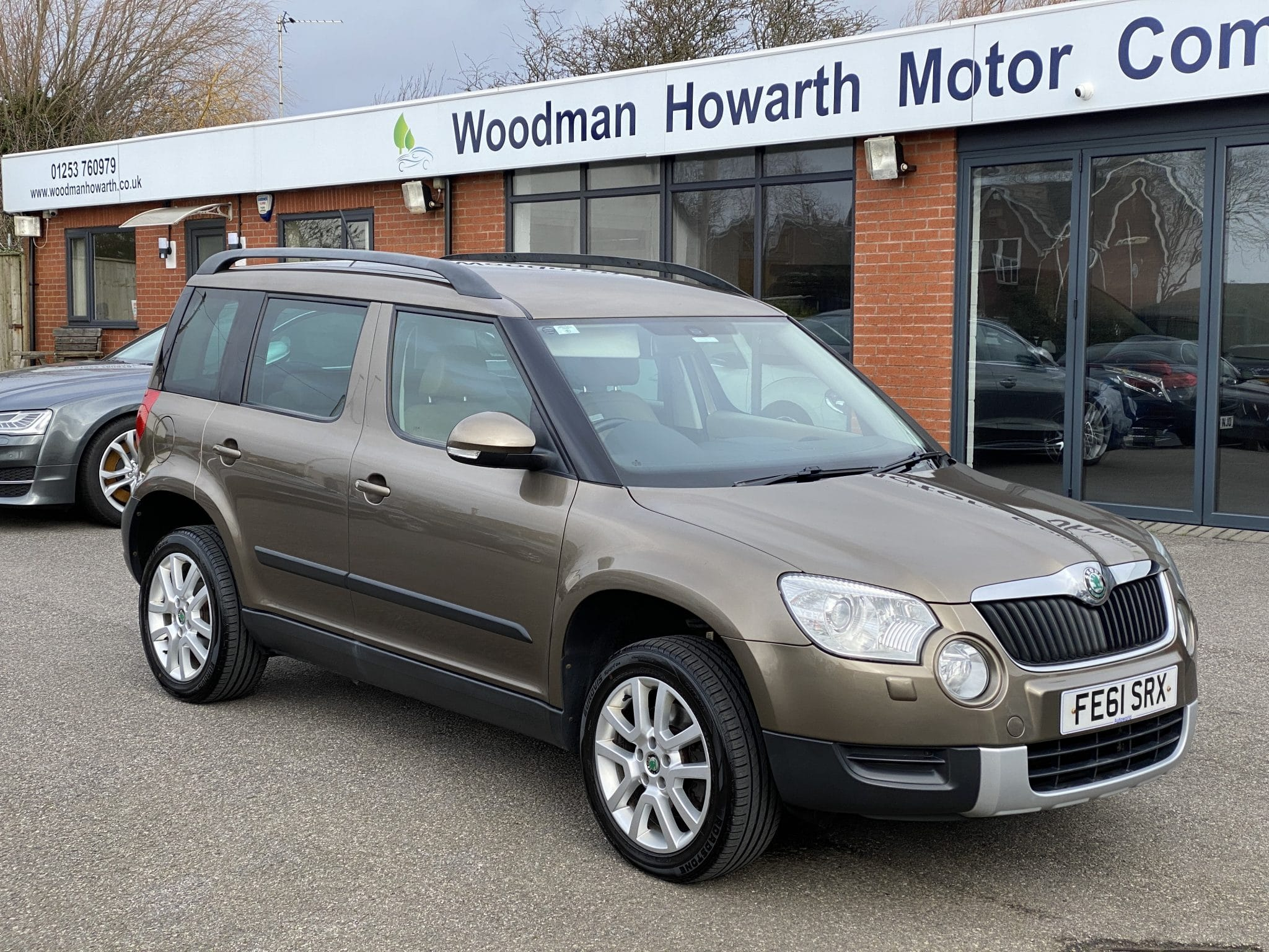 2011 61 SKODA YETI 2.0TDI CR 4X4 ELEGANCE MANUAL 170 BHP 1 Previous Owner FSH Low Miles Leather Ex Condition
