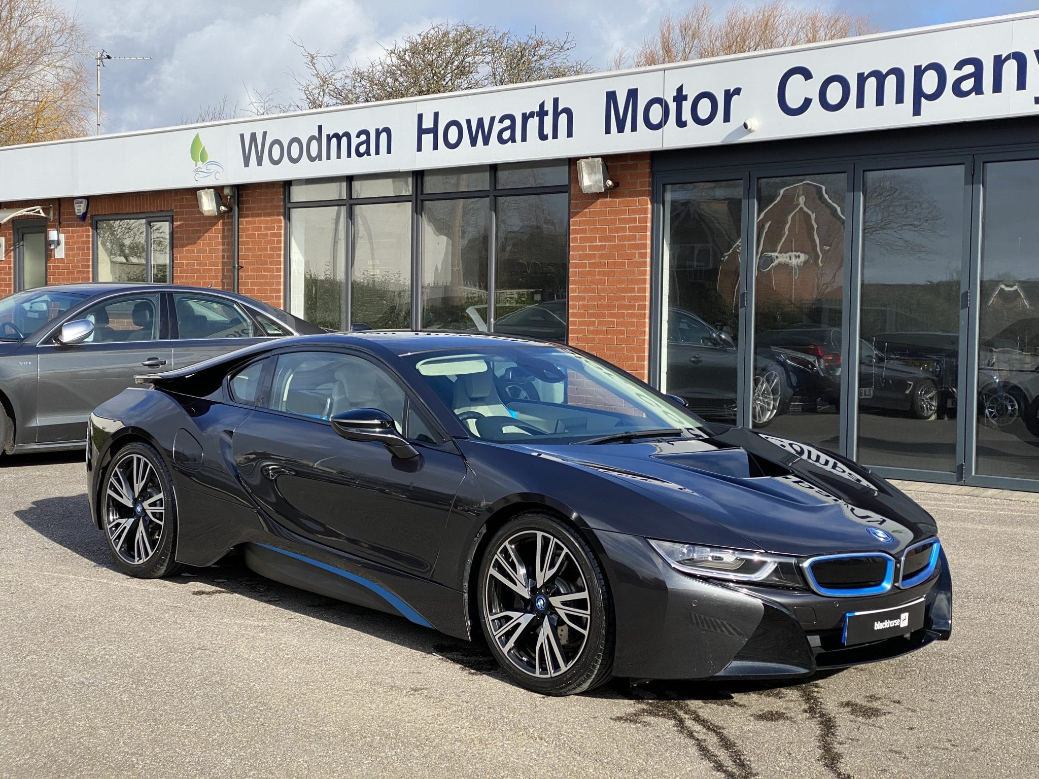 2014 64 BMW I8 COUPE 1.5 HYBRID 4X4 362BHP 1 Owner FBMWSH Pristine Example Throughout