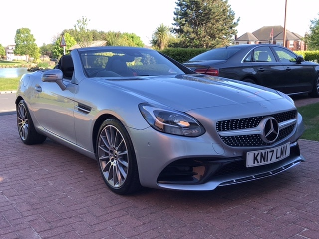 2017 17 MERCEDES BENZ SLC 250 CDI 204BHP AMG LINE 9G-TRONIC AUTO CONVERTIBLE