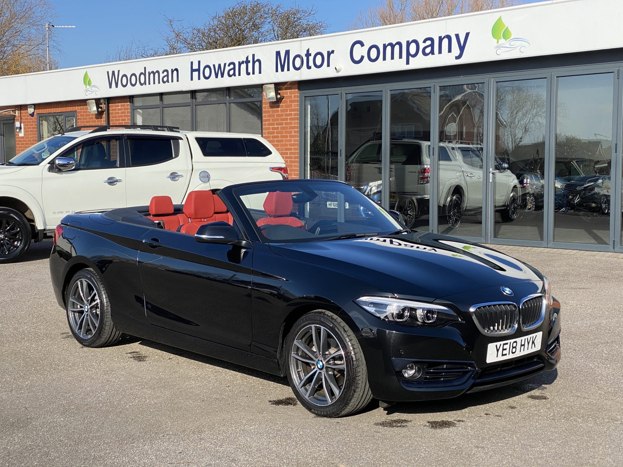2018 18 BMW 218i SPORT AUTO CONVERTIBLE 1.5 136 BHP Full Leather ONLY 3500 Miles Nav Rare Auto