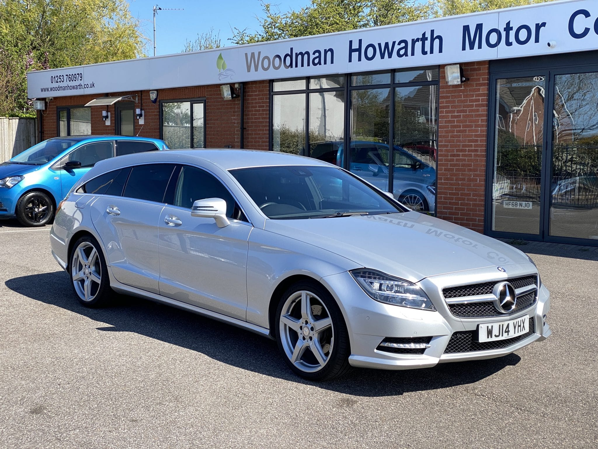 2014 14 MERCEDES BENZ CLS250 2.1CDI AMG SPORT SHOOTING BRAKE AUTO 1 Previous Owner FSH Only 50K Mls