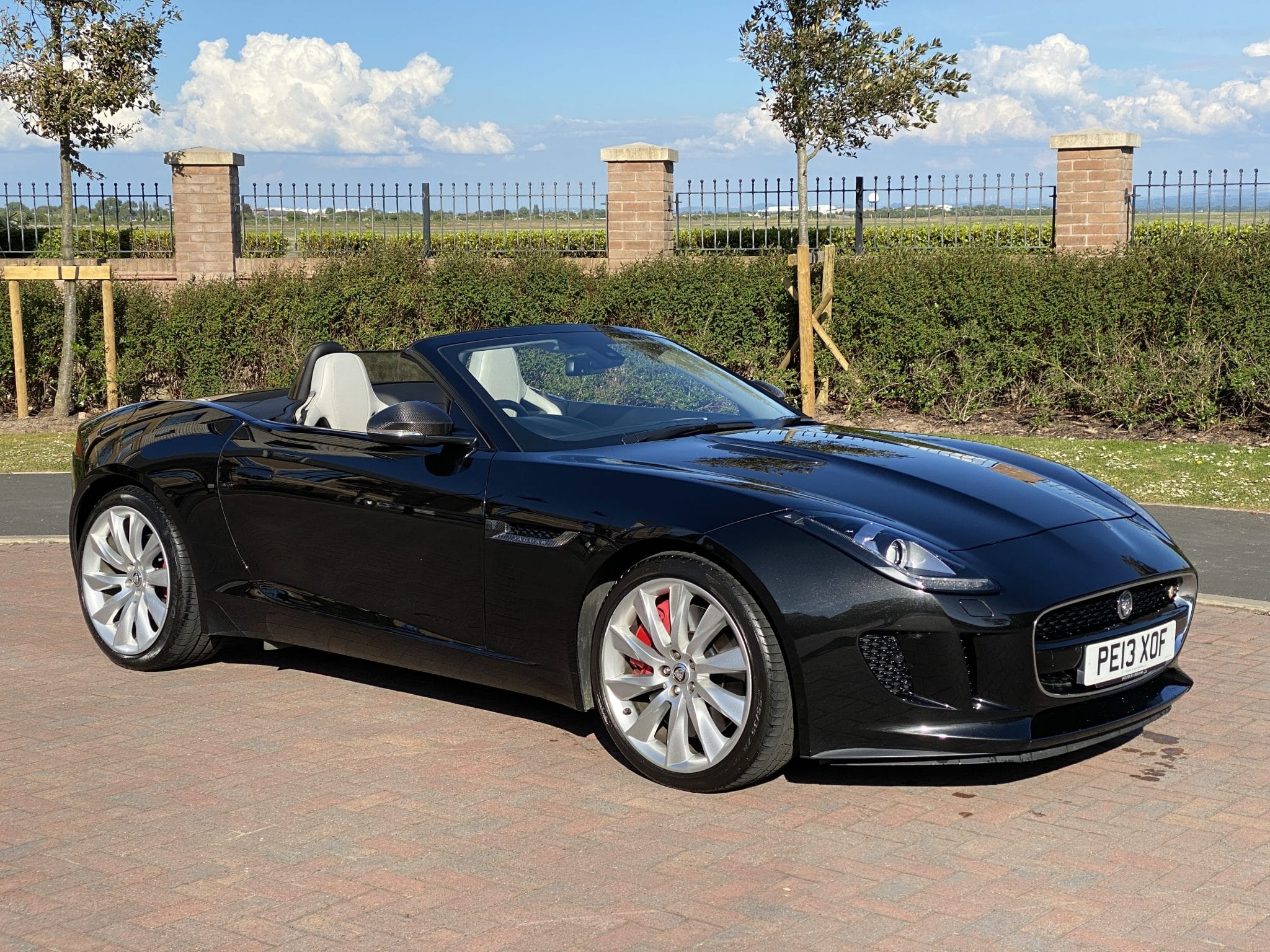2013 13 JAGUAR F TYPE 3.0 V6 S QUICKSHIFT CONVERTIBLE 380BHP ONLY 38K Mls Pristine Example