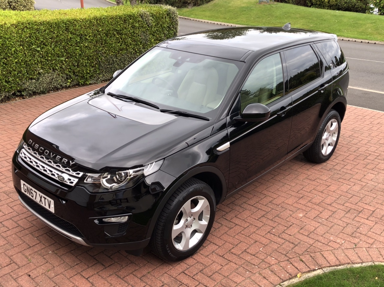 2017 67 LAND ROVER DISCOVERY SPORT 2.0 ED4 HSE MANUAL