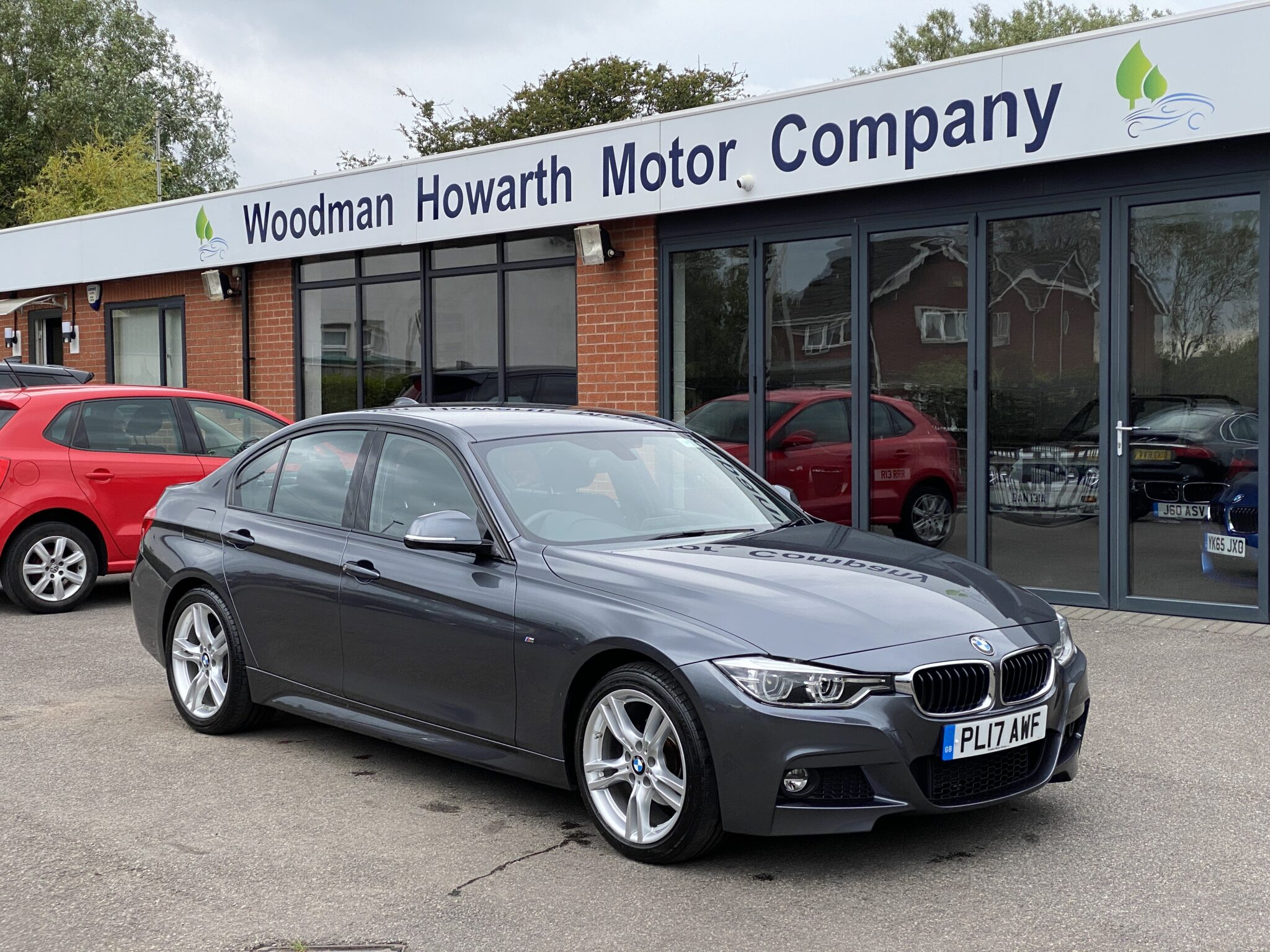 2017 17 BMW 320i M SPORT SALOON 6 SPEED MANUAL 1 Owner FSH Leather on 13K Miles