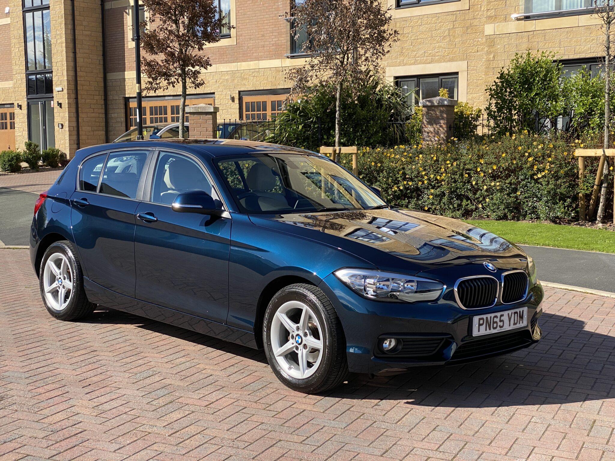 2015 65 BMW 116D SE AUTOMATIC 5 DOOR 1 Owner FBSH Only 41K Mls Full Leather & Navigation