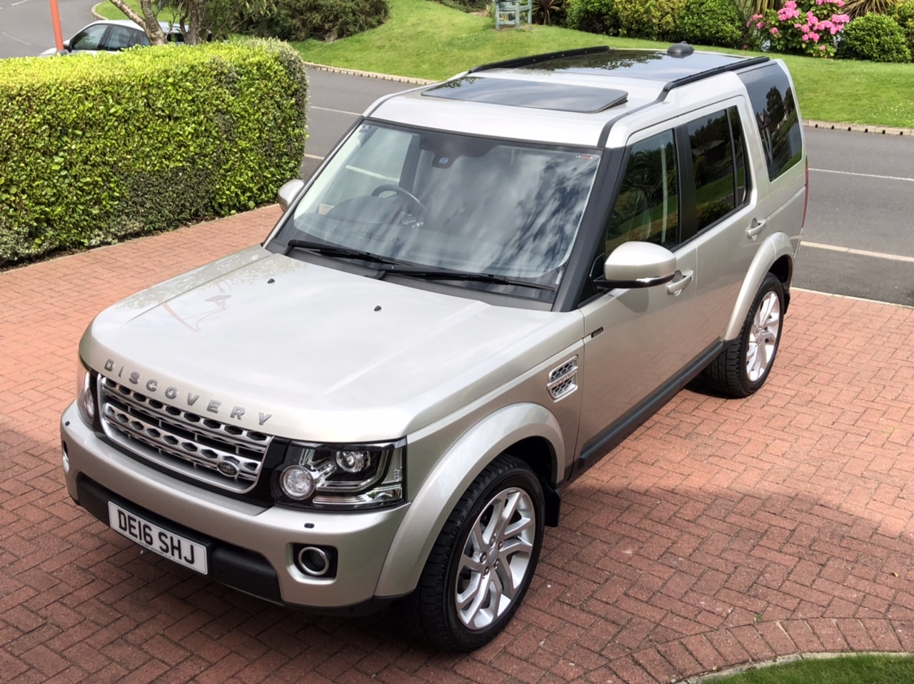 2016 16 LAND ROVER DISCOVERY 4 SDV6 3.0 HSE AUTO