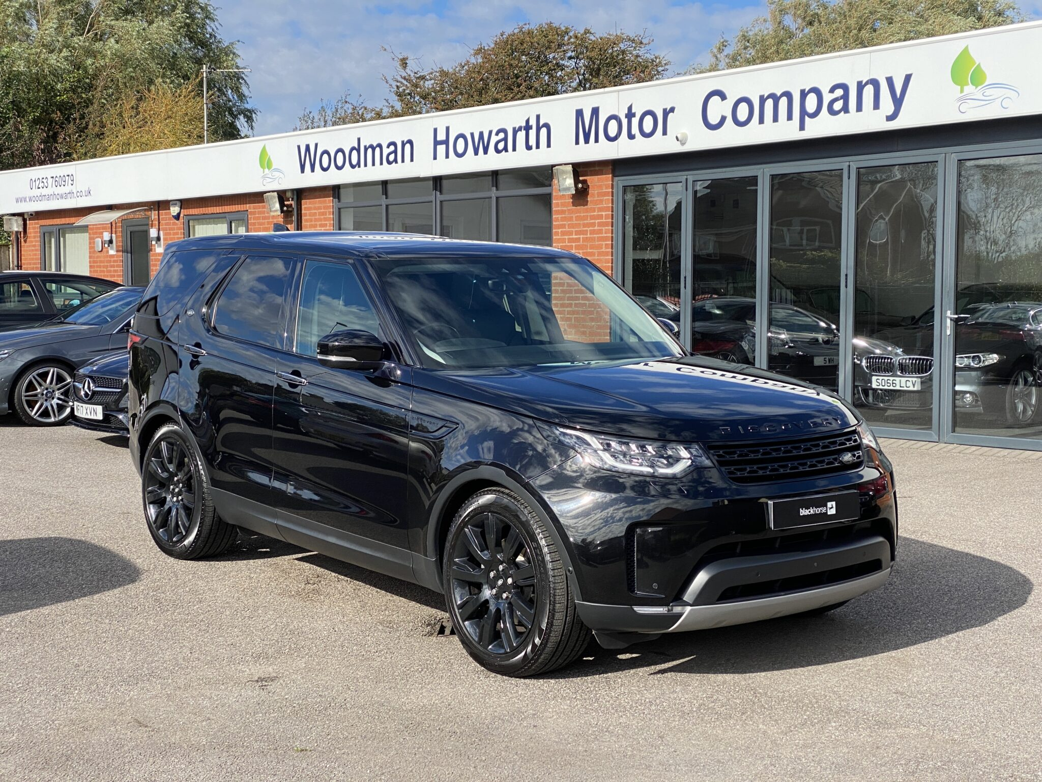 2017 17 LANDROVER DISCOVERY 3.0 TDV6 HSE LUXURY 7 SEAT AUTO 1 Prev Owner FSH Huge Spec