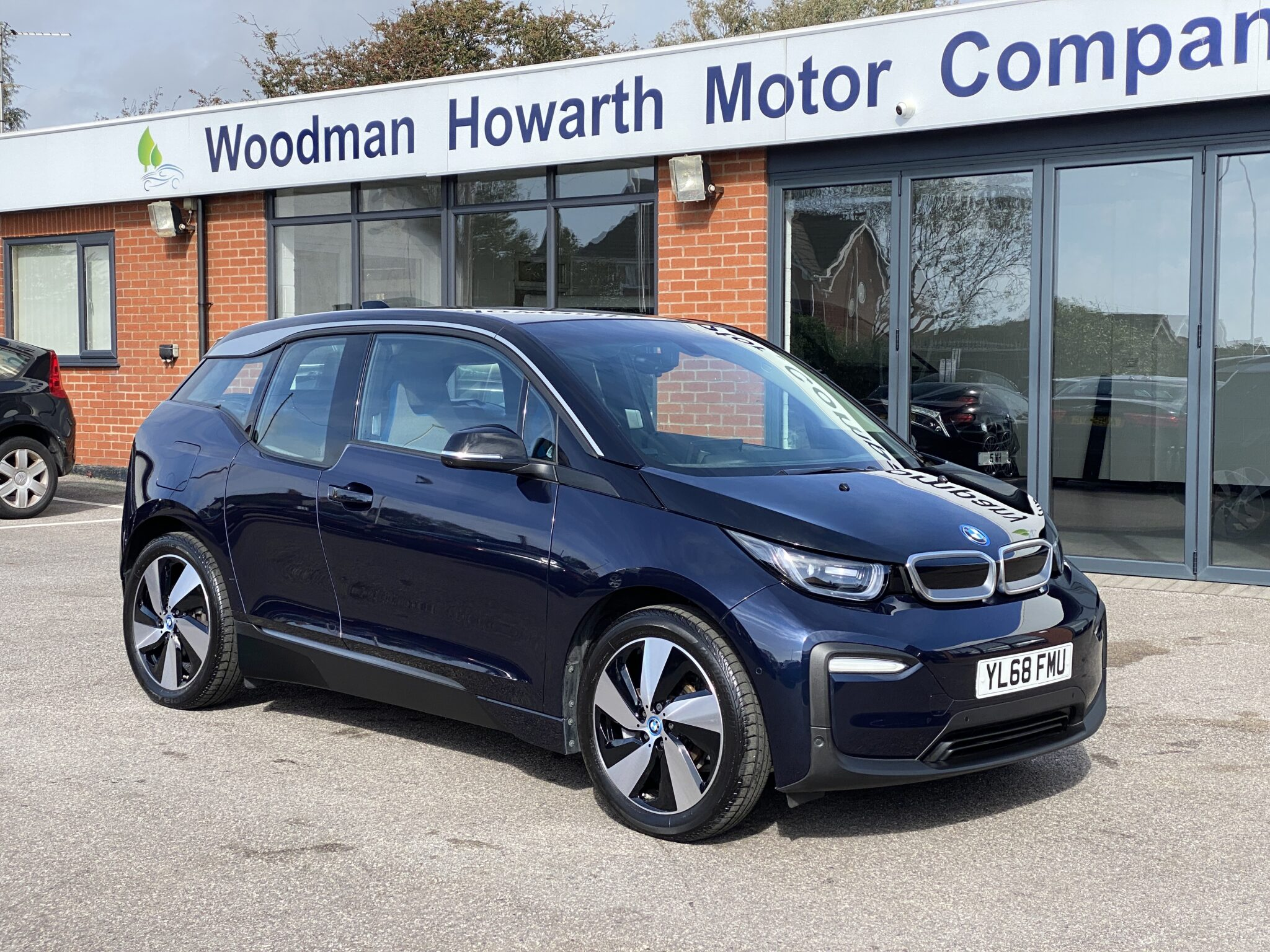 2018 68 BMW i3 120AH ELECTRIC VEHICLE Only 3500 Miles Reverse Camera Pro Nav High Spec