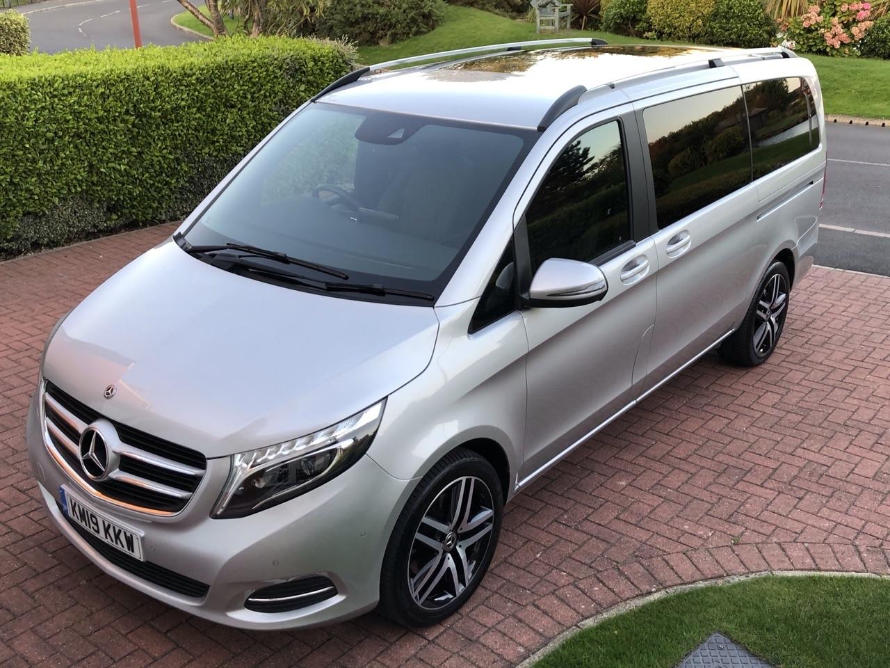 2019 19 MERCEDES BENZ V220 CDI SPORT AUTO LWB