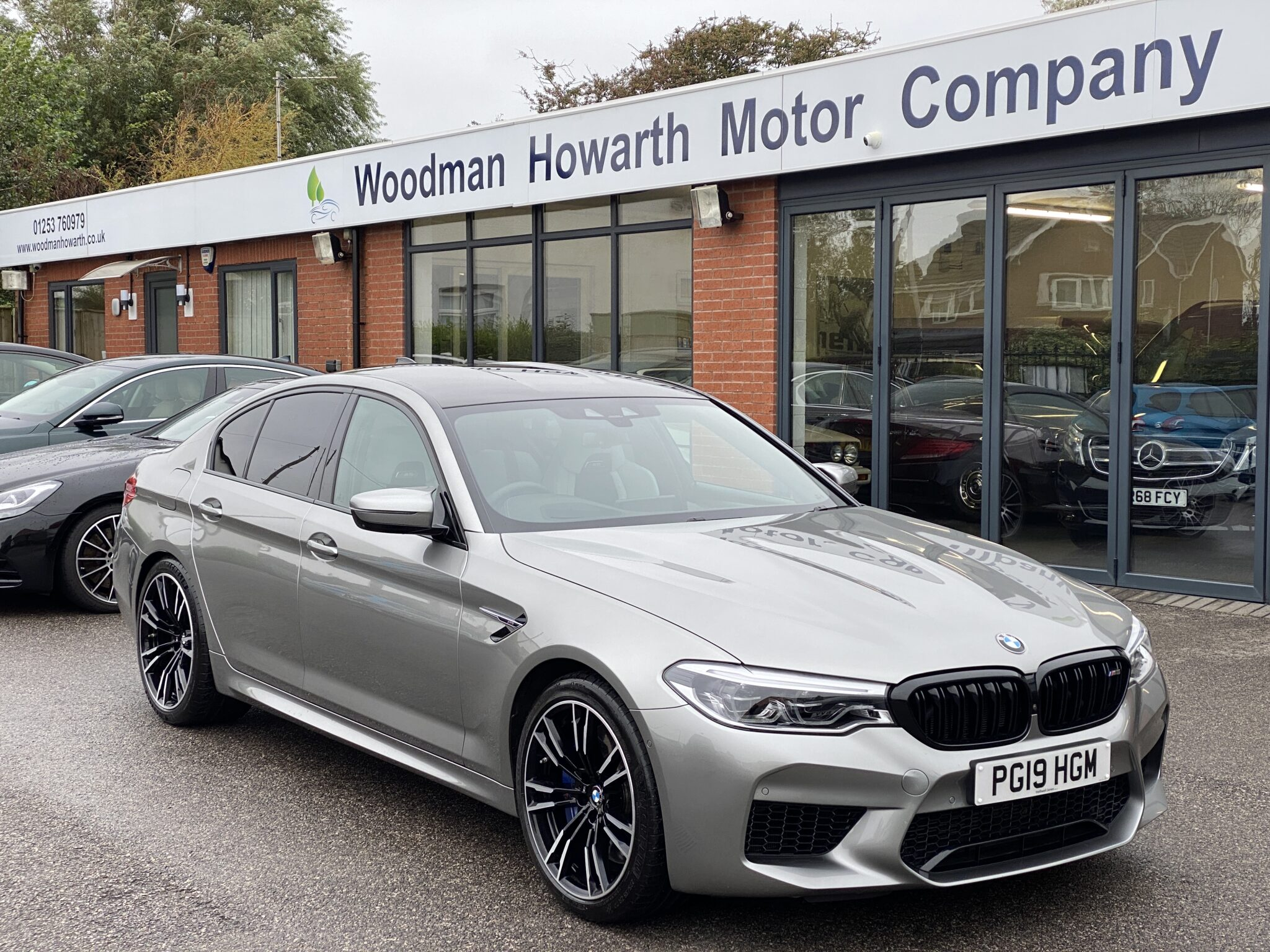 2019 19 BMW M5 4.4 V8 XDRIVE SALOON 600 BHP Comfort Pack High Spec Low Miles Pristine