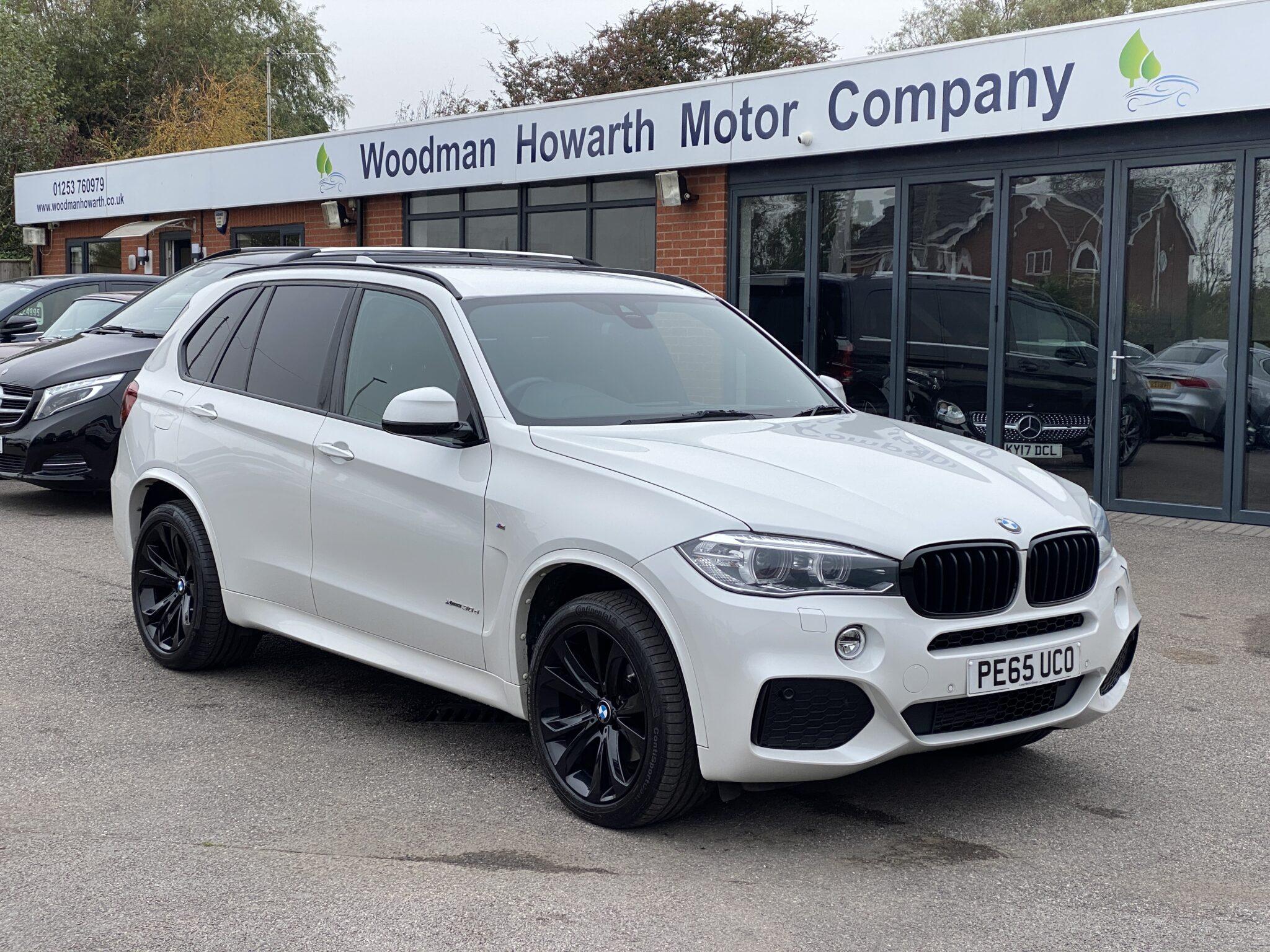 2015 65 BMW X5 30D M SPORT AUTOMATIC 4X4 Only 23K Mls FSH 20