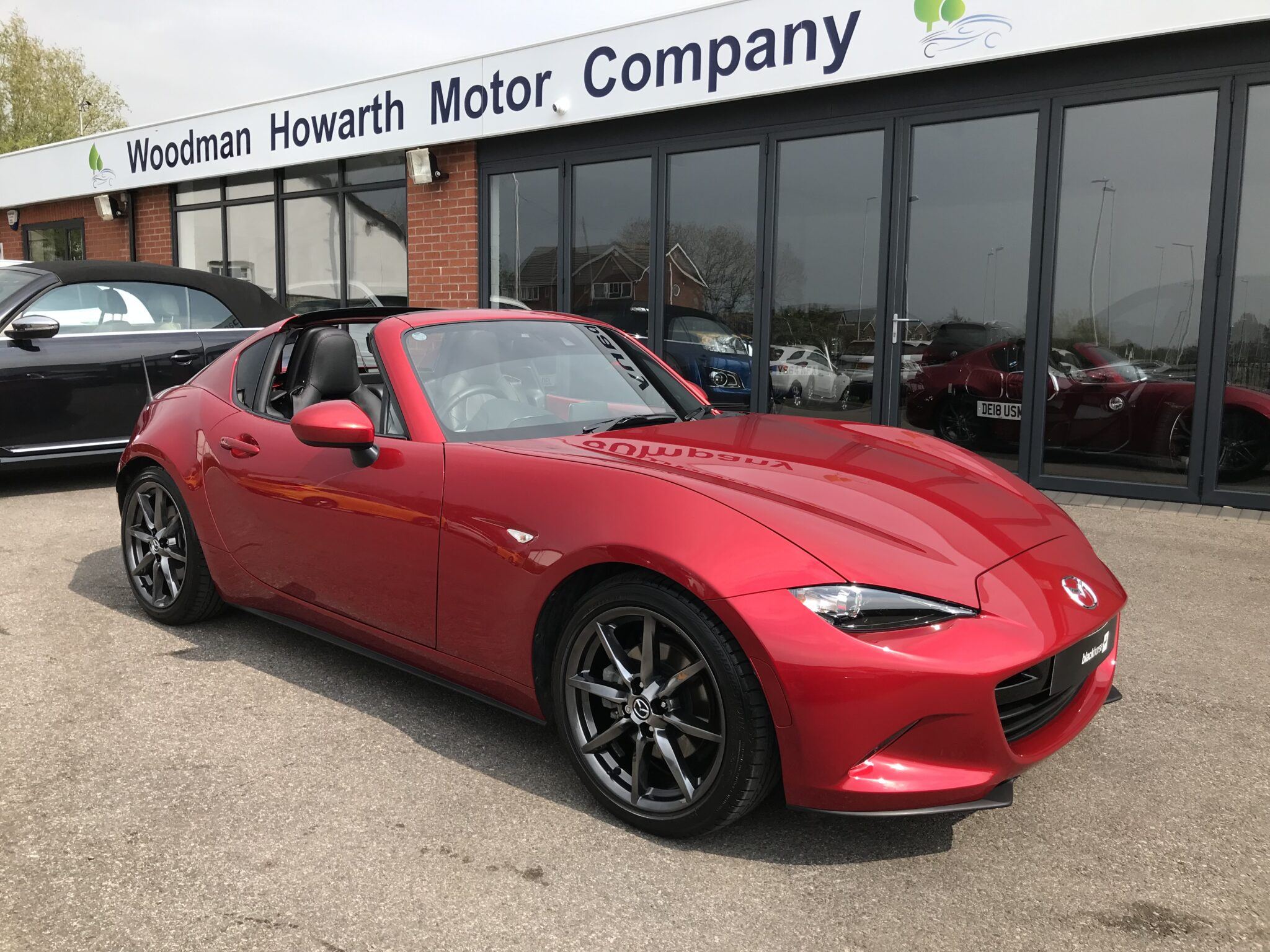 2018 67 MAZDA MX5 RF 2.0 ROADSTER AUTOMATIC Only 9500 Mls Huge Spec Excellent Value & Condition