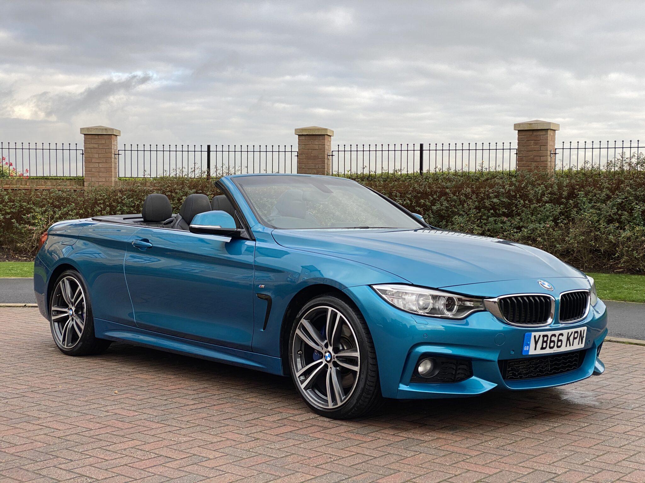2017 66 BMW 420D M SPORT PLUS CONVERTIBLE AUTO 20K Mls Very High Spec Fabulous Colour