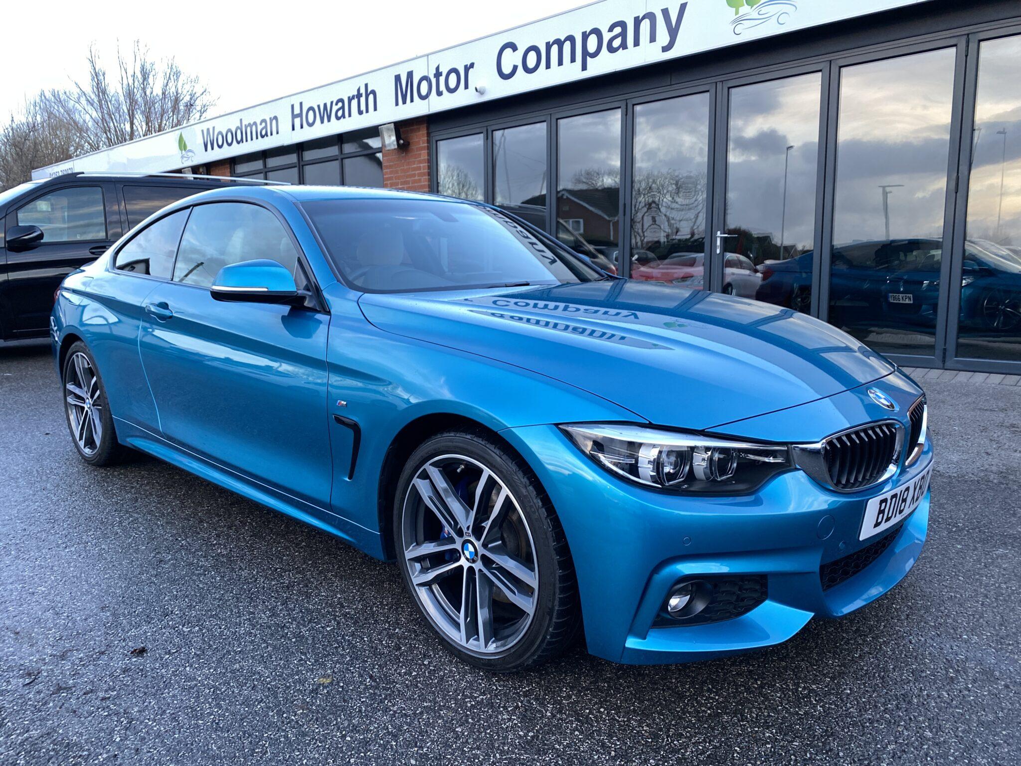 2018 18 BMW 420d M SPORT COUPE AUTOMATIC 19