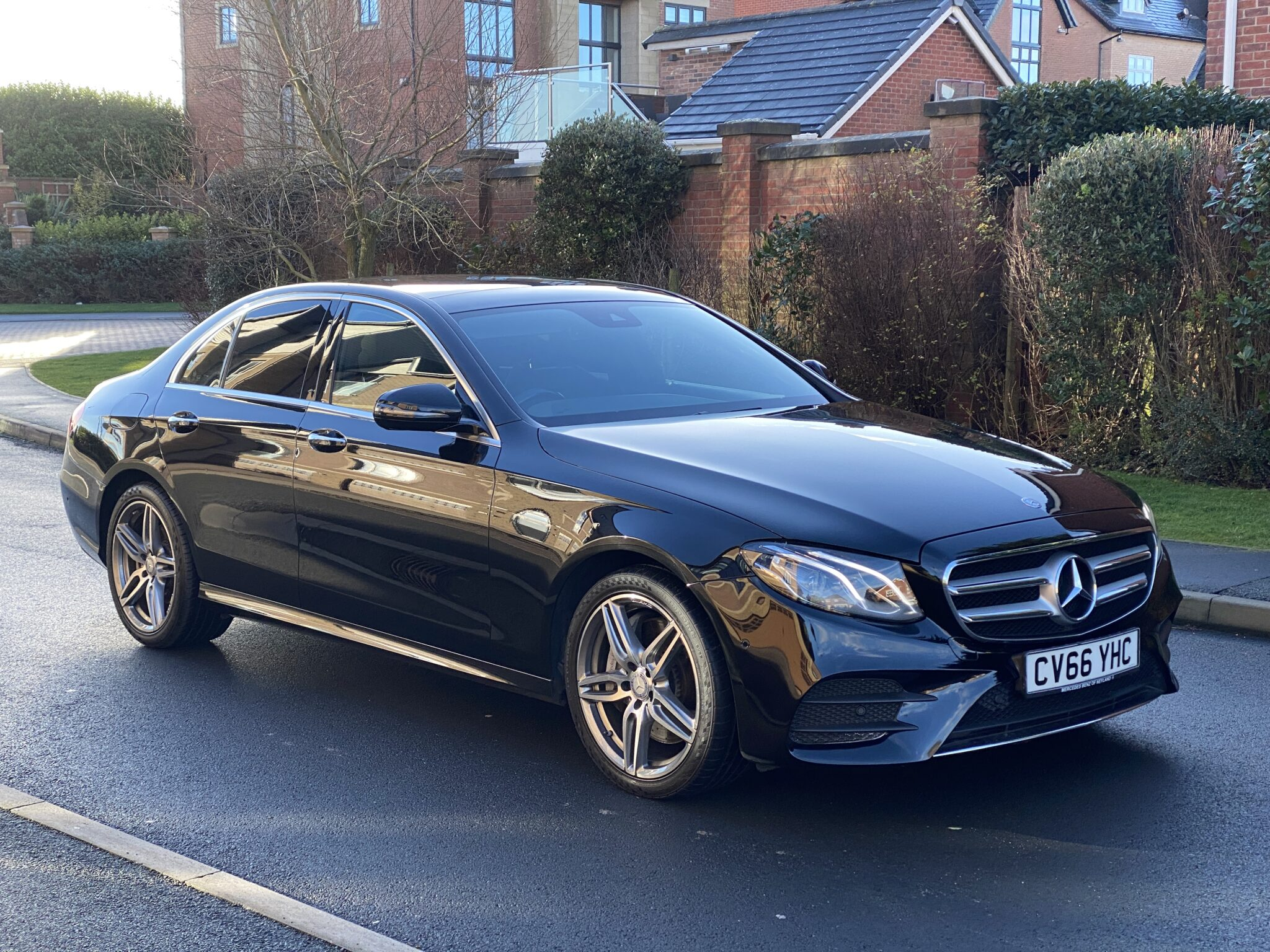 2016 66 MERCEDES BENZ E350D V6 AMG LINE PREMIUM 7 G TRONIC SALOON Nappa Leather Widescreen Dash Pan Roof