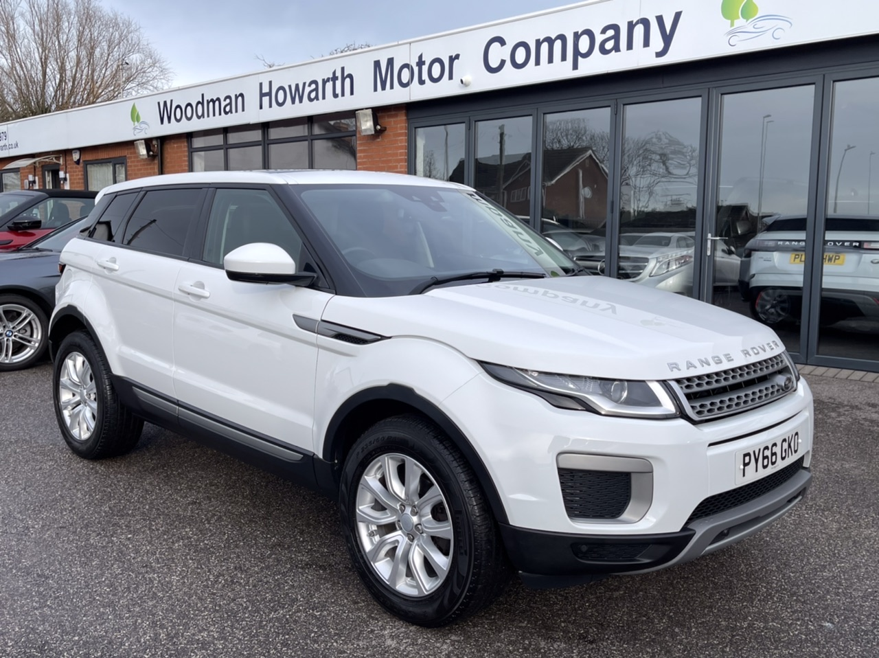 2017 LAND ROVER RANGE ROVER EVOQUE 2.0 ED4 SE MANUAL 5 DOOR PANORAMIC GLASS ROOF