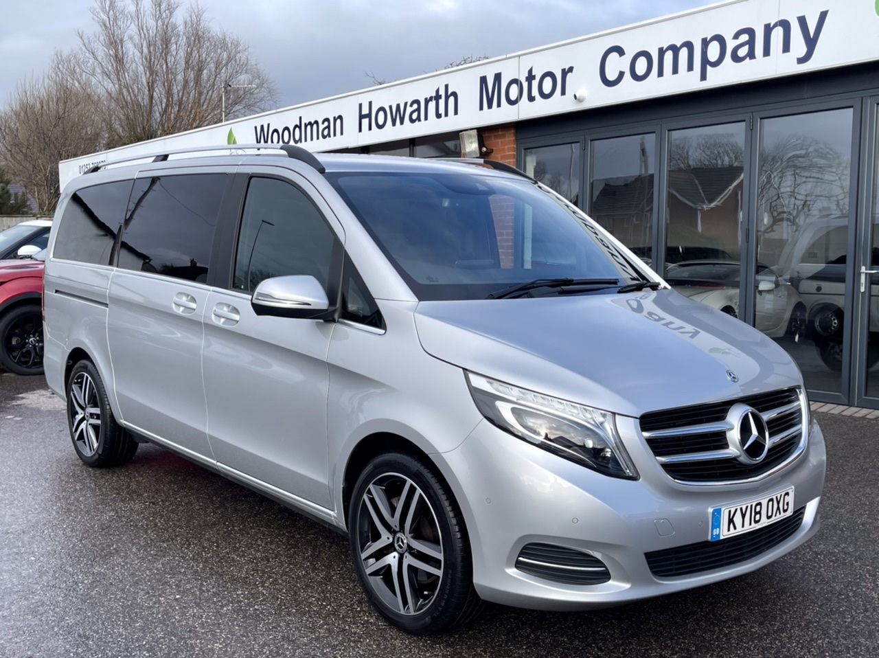 "2018 18 MERCEDES-BENZ V220 CDI 163BHP SPORT AUTO LWB PAN ROOF-TOW PACK-19"" A/W-COMAND"