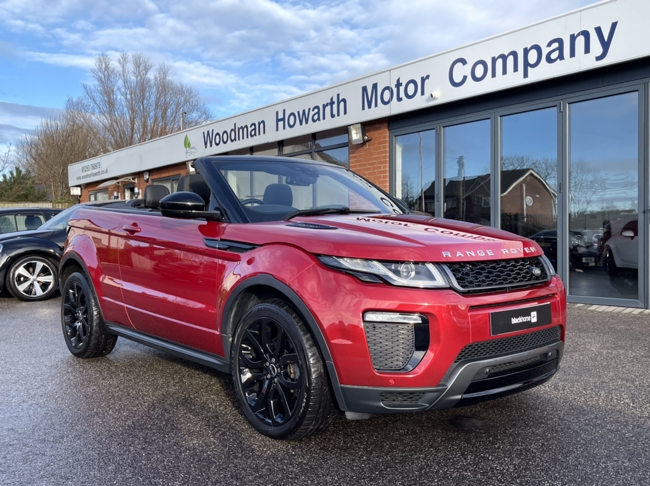 2016 66 LAND ROVER RANGE ROVER EVOQUE 2.0TD4 4WD HSE DYNAMIC CONVERTIBLE AUTO