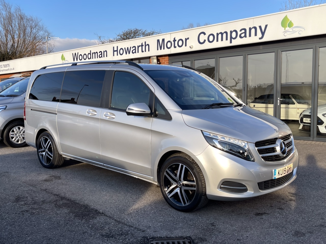 "2019 19 MERCEDES-BENZ V220 CDI 163BHP SPORT AUTO LWB Pan Roof-Tow Pack-19"" A/W-COMAND"