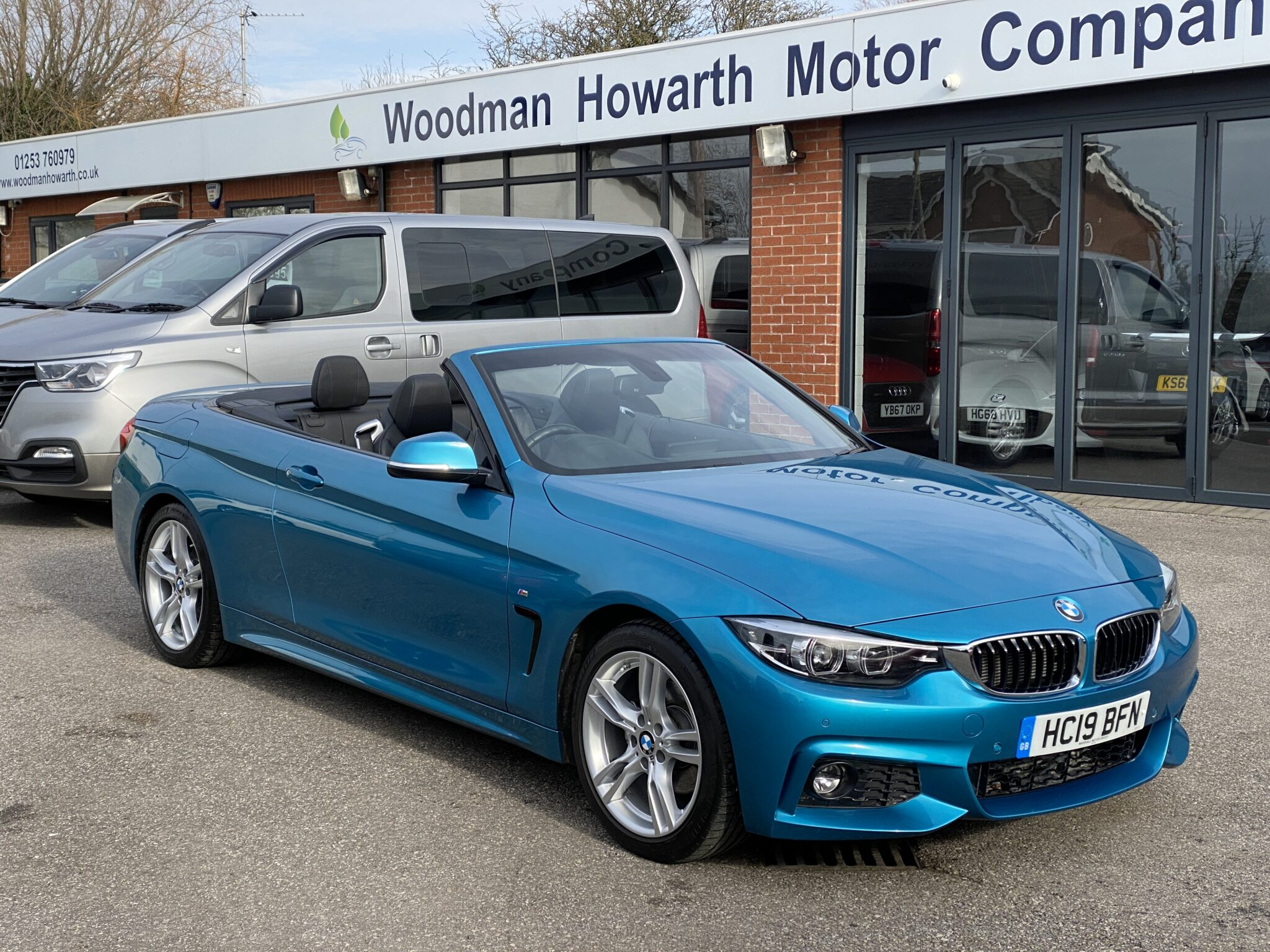 2019 19 BMW 420D M SPORT CONVERTIBLE AUTOMATIC Only 11k Mls Leather Navigation Excellent Value