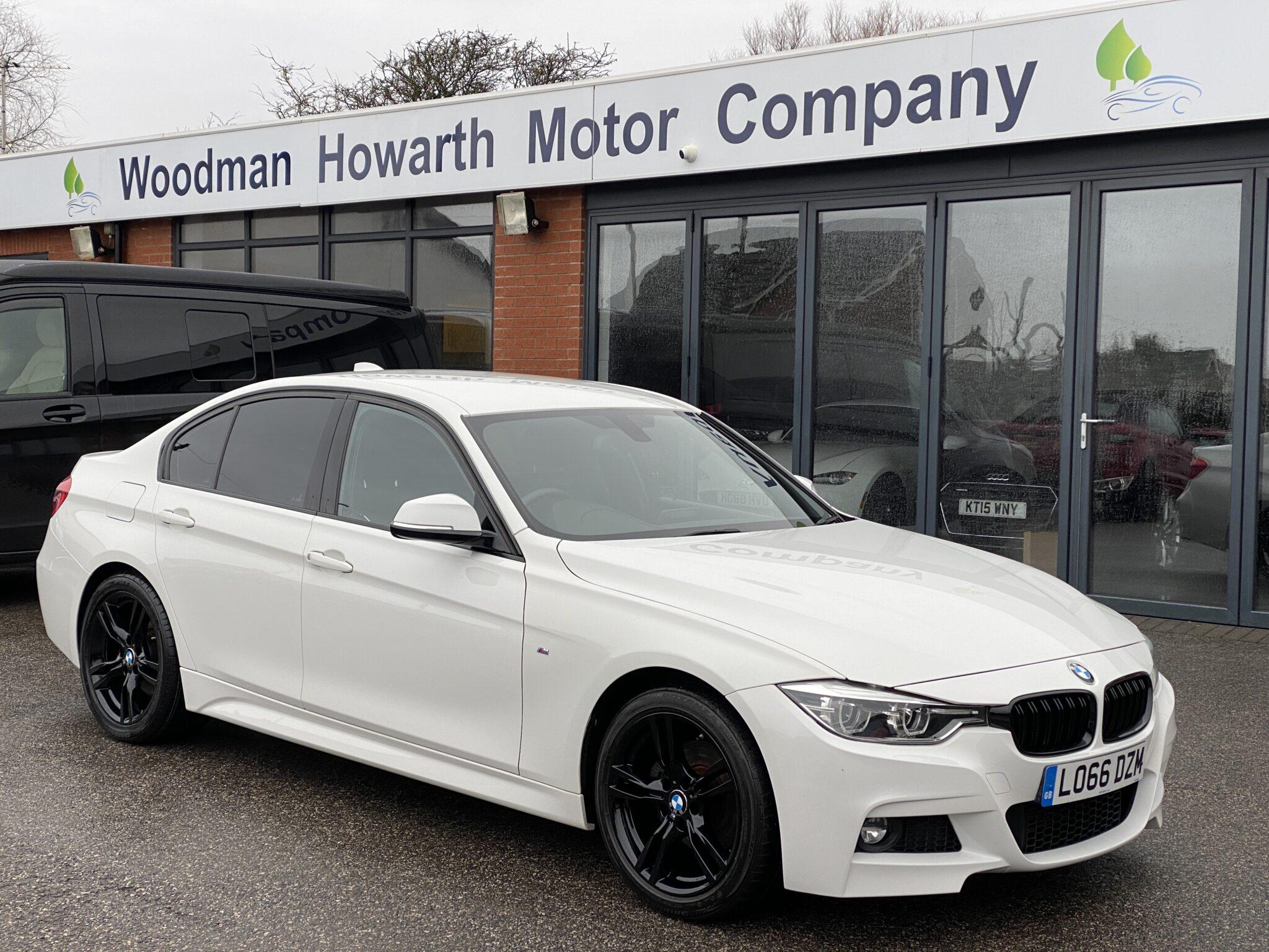 2016 66 BMW 320D M SPORT AUTOMATIC SALOON Leather Navigation Ex Value