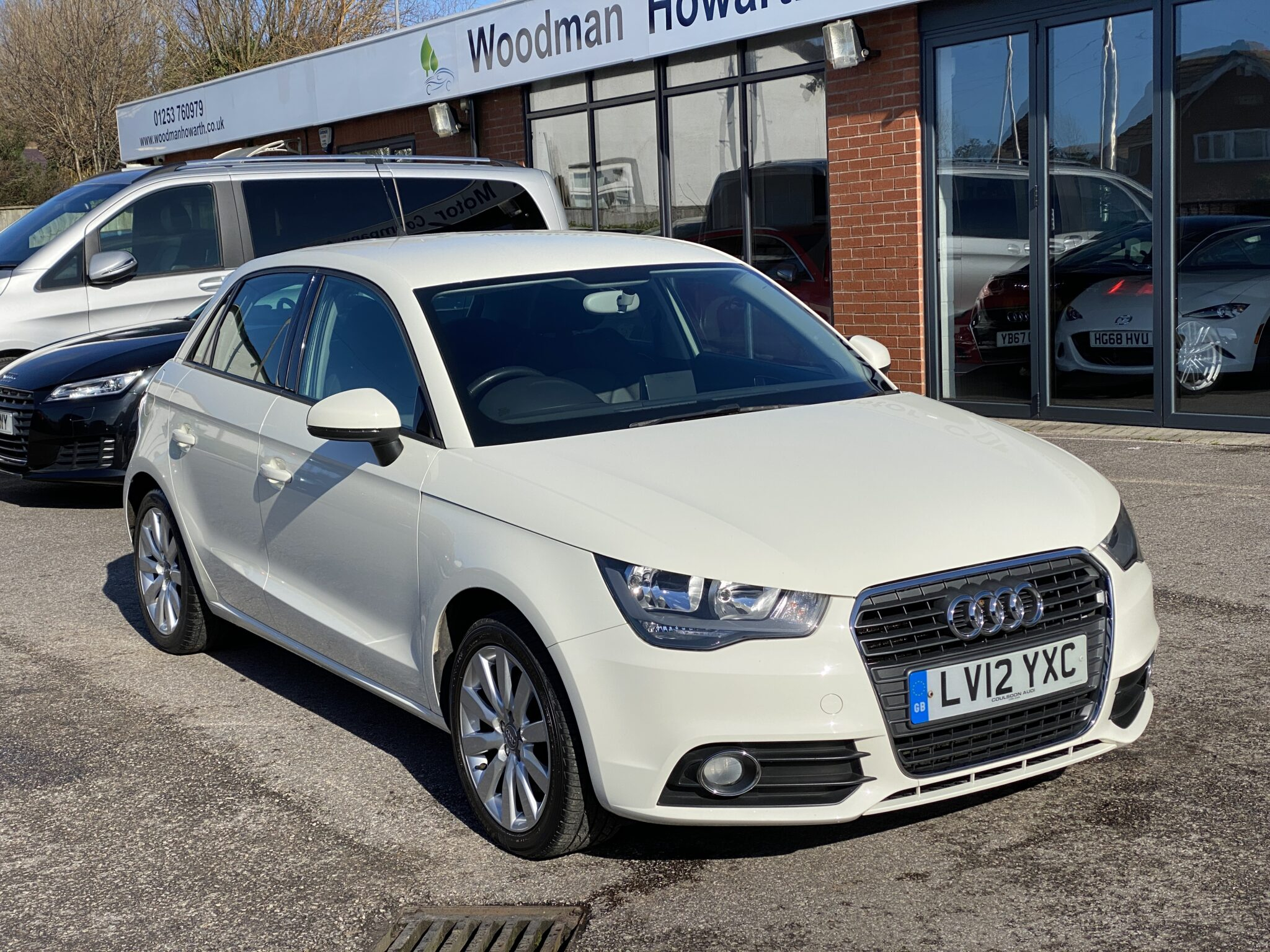 2012 12 AUDI A1 1.4 SPORT AUTOMATIC 5 DOOR 1 Prev Owner ONLY 27K Miles