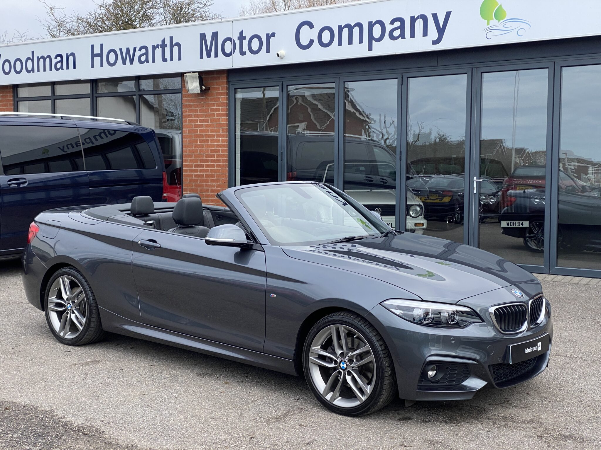 2018 18 BMW 220D M SPORT CONVERTIBLE AUTO Only 7K Mls Leather Nav