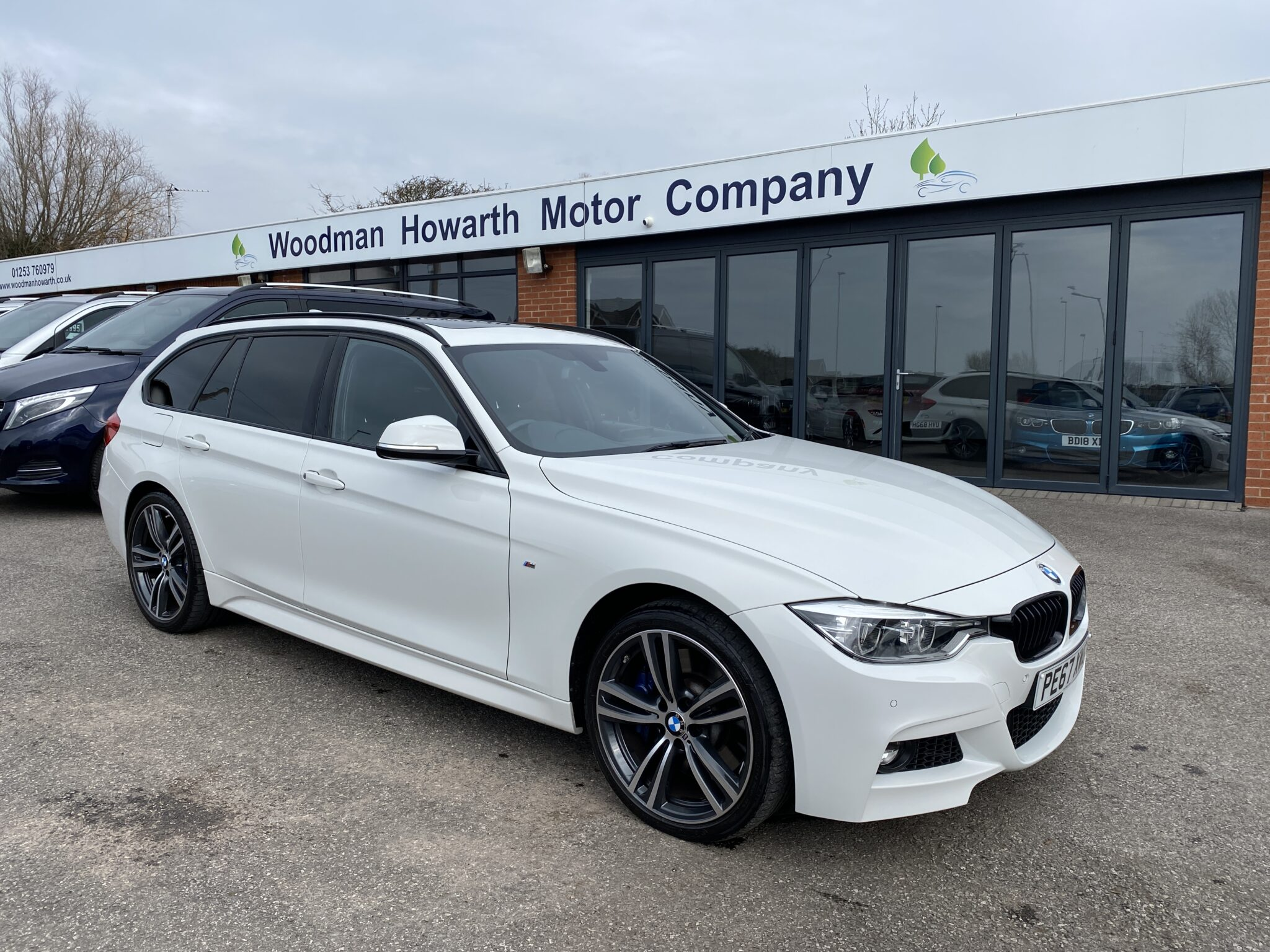 2017 67 BMW 335D XDRIVE M SPORT TOURING AUTOMATIC One Owner Pan Roof Only 18K Mls