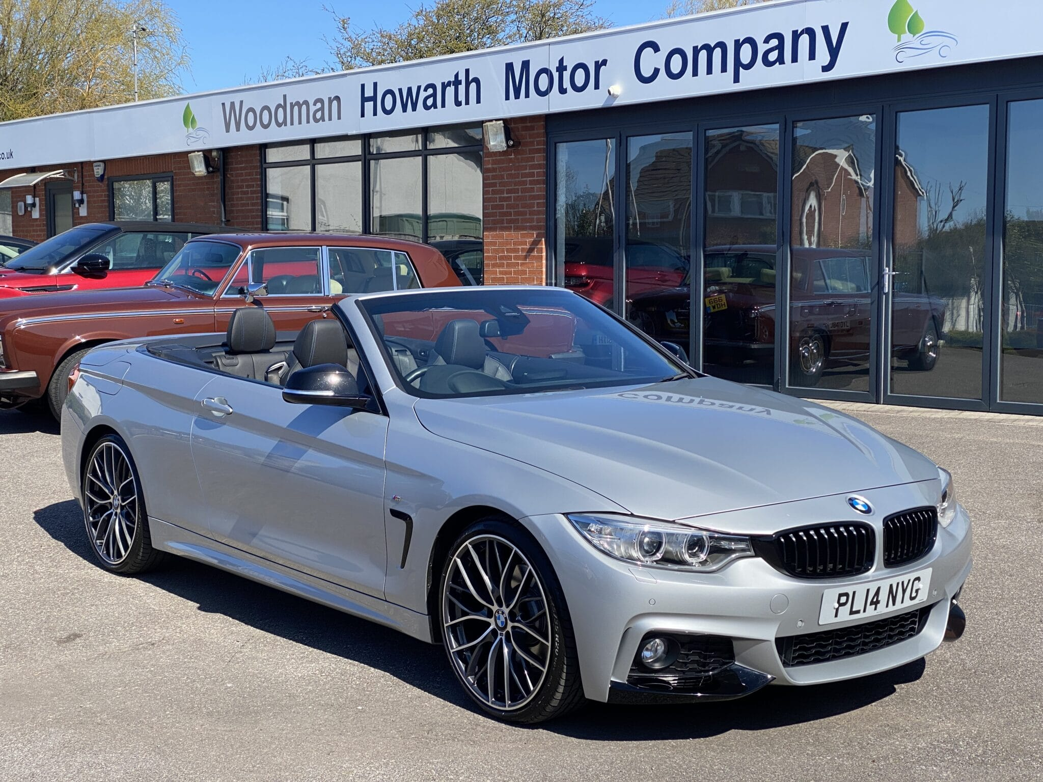 2014 14 BMW 428I M SPORT CONVERTIBLE AUTOMATIC 1 Owner Full BMW SH 20