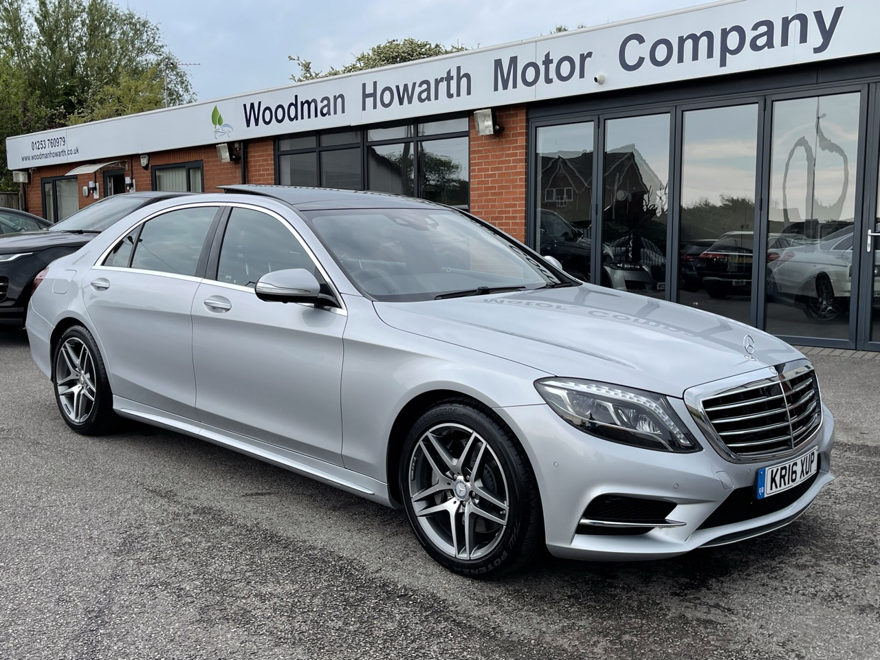 2016 16 MERCEDES BENZ S350D L AMG LINE 9G-TRONIC AUTO - Panoramic Roof - 360 Cameras - Memory Package - Only 2400 miles - VAT Q