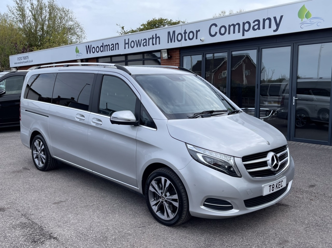 2018 68 MERCEDES BENZ V220D 163BHP SPORT LONG 7G-TRONIC AUTO - VATQ - Price Includes VAT - 360 Cameras - Electric Seat Memory Pack - Pan Roof