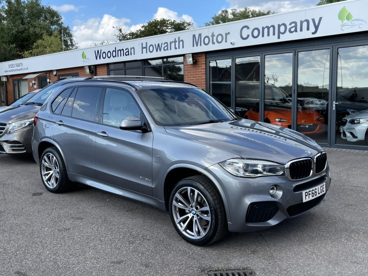 2016 66 BMW X5 XDRIVE30D M SPORT 7 SEAT AUTO - Plus Pack - Detachable Towbar - Light Leather