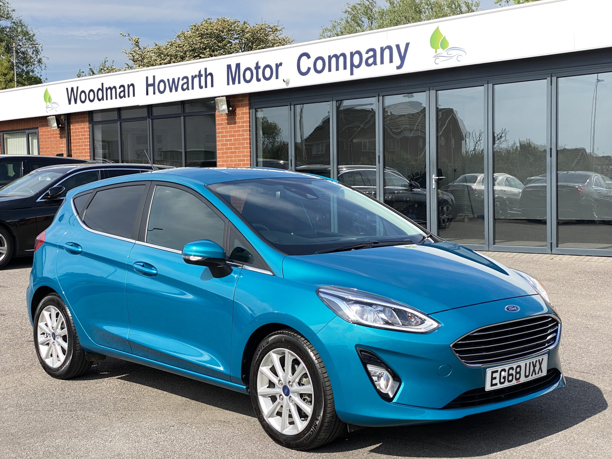 2019 68 FORD FIESTA 1.0T ECOBOOST TITANIUM 5DR Very Rare Colour Only 6K Miles