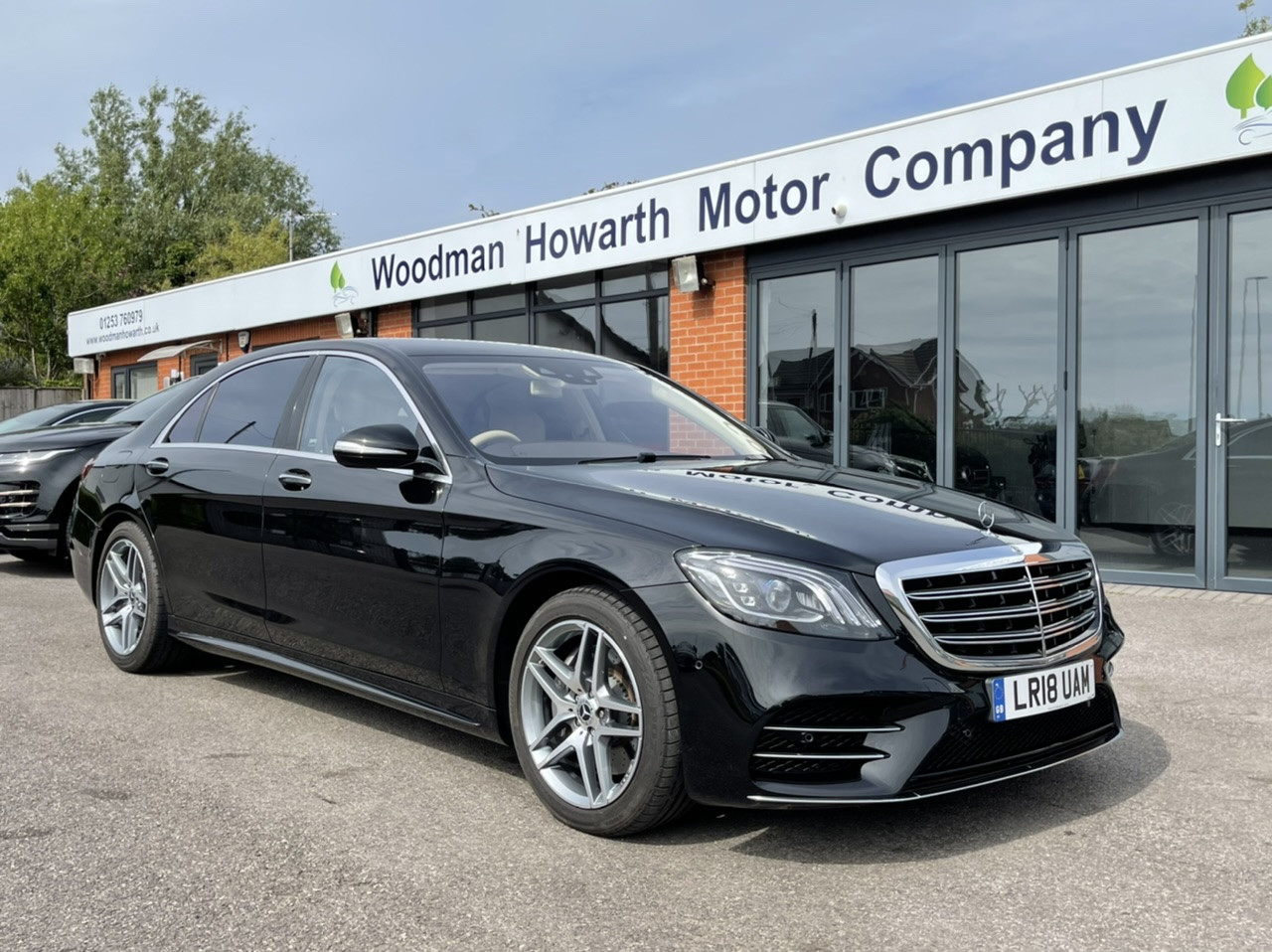 2018 18 MERCEDES BENZ S500L AMG LINE 9G-TRONIC AUTO - Only 2700 miles - £87k Cost new - Rare beige leather