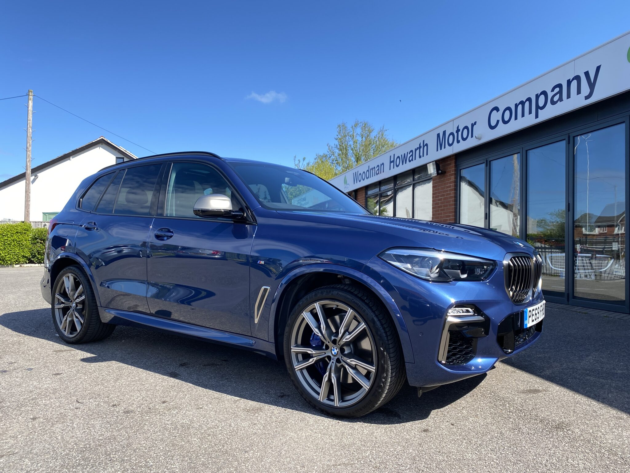 2019 69 BMW X5 M50D AUTO Huge Specification £85K New Skylounge Technology Pack Driver Assist Pro