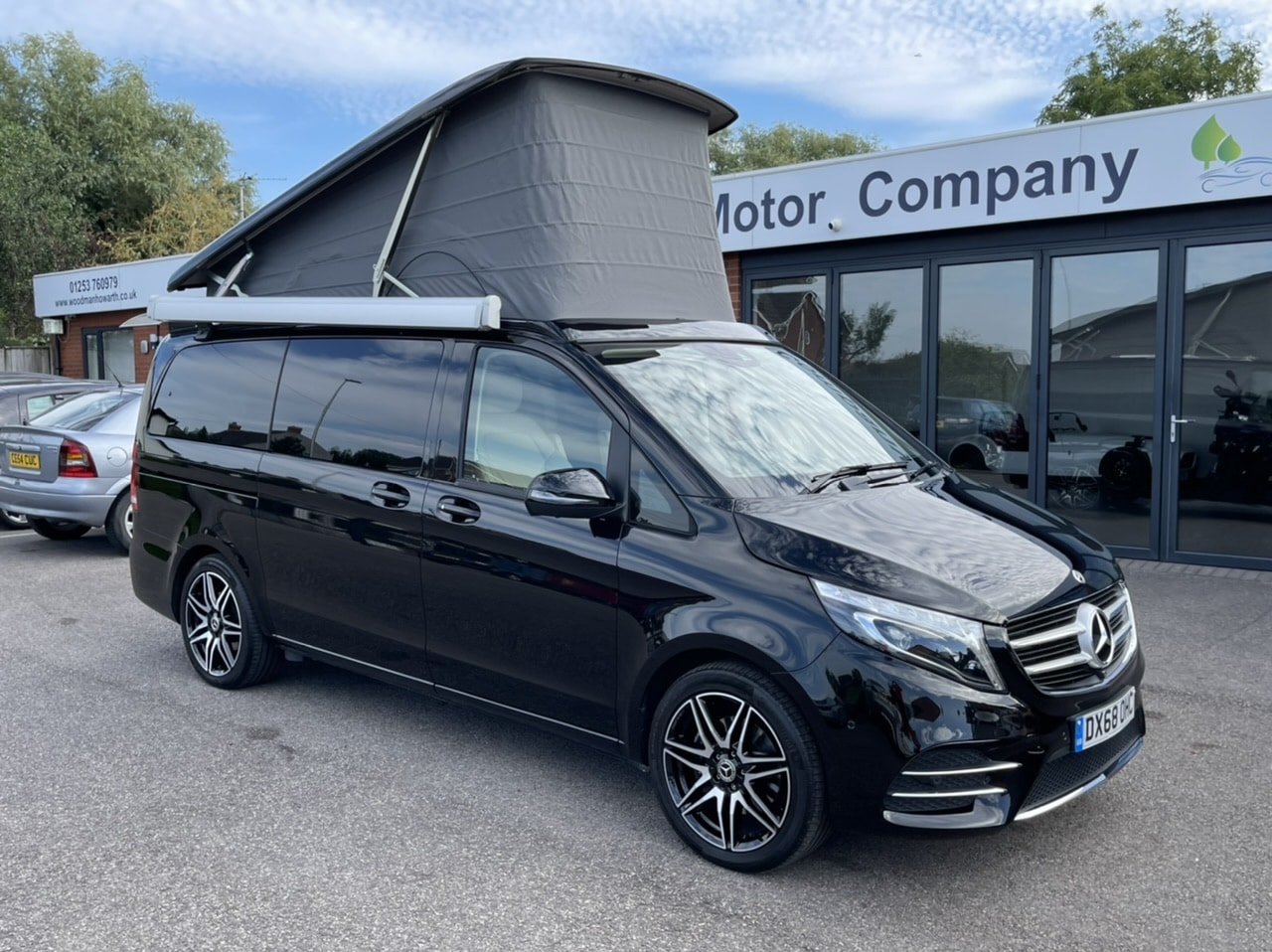 2018 68 MERCEDES BENZ V220D 163BHP MARCO POLO AMG LINE 9G-TRONIC AUTO CAMPER VAN - Aux air heater - 360 Cameras - Awning - COMAND - Towbar