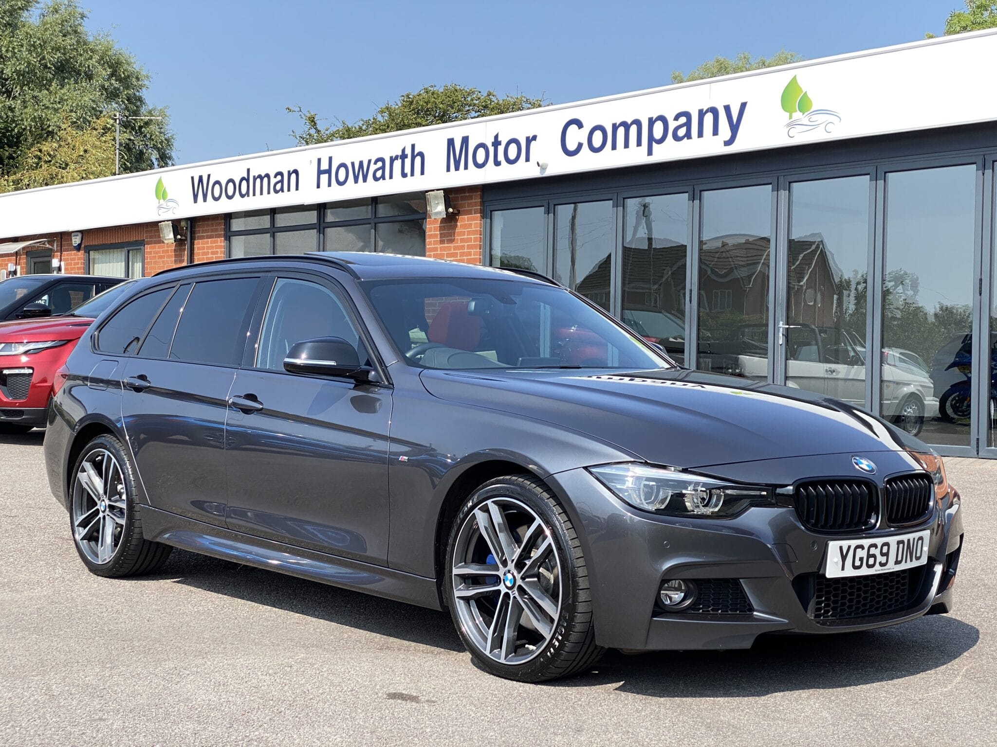2019 69 BMW 320D M SPORT XDRIVE SHADOW EDITION TOURING AUTO Panoramic Glass Sunroof Low Miles