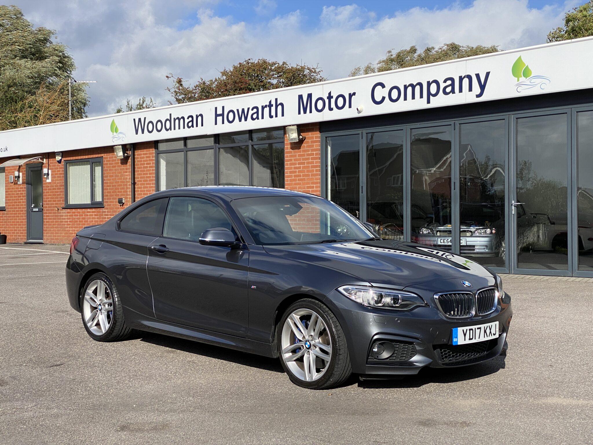 2017 17 BMW 225D M SPORT COUPE AUTO M Sports Plus Comfort & Interior Pack
