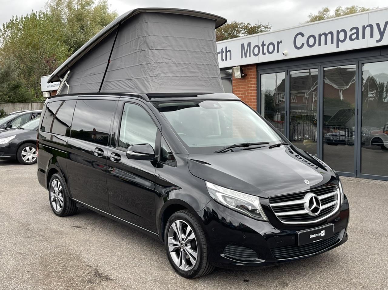 2019 MERCEDES BENZ V220D (163BHP) MARCO POLO HORIZON SPORT AUTO CAMPER VAN - Only 8k miles - Mercedes Warranty